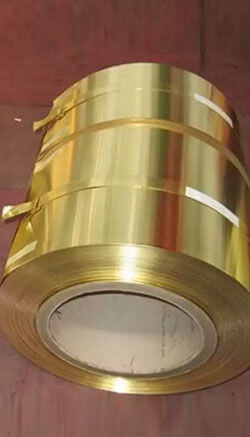 Brass Hot Rolled Coils