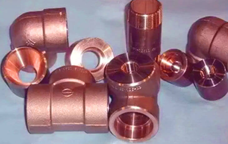 Cupro Nickel 90-10 Forged Fittings